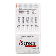 iScreen 6-panel drug test