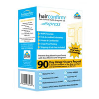 home hair drug test kit